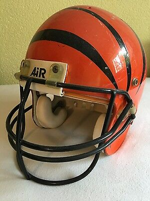 Cincinnati Bengals rare Vintage Authentic Game Used 1986 Helmet
