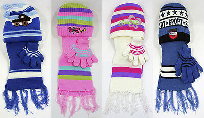 Brand New Thomas Calvi Kids hat, scarf and glove Sets, Great For the Winter!!!