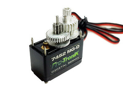 ELE 1x Micro Digital servo 7452 MG-D 2,8kg / 0.11s 12g Metal