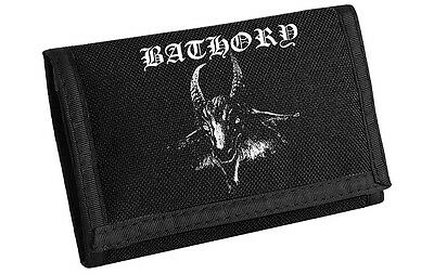 Bathory Goat Wallet (No Chain) NEW OFFICIAL