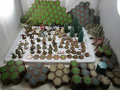 Lot of Heroscape Wargaming Figures, Dragons Millitary & Terrain Over 150 Pieces