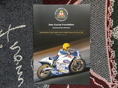 Joey Dunlop Foundation Commemorative Brochure - Joeys Holiday Home Grand Opening