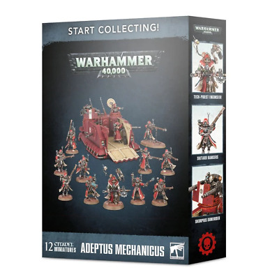 Start Collecting Skitarii Games workshop