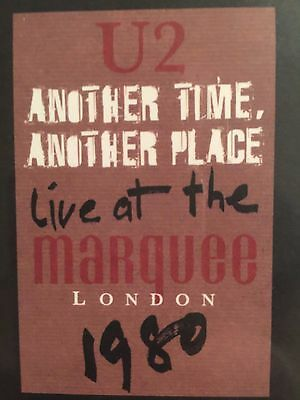 U2 Another Time Another Place Live at The Marquee London 1980 Vinyl NEW SEALED