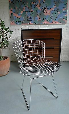 Harry Bertoia Side Chairs Mid-century Vintage Retro