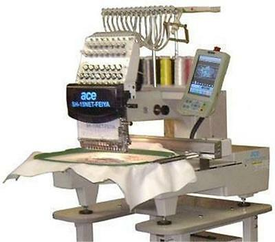 Brand New Industrial Embroidery Machine 15 Needles