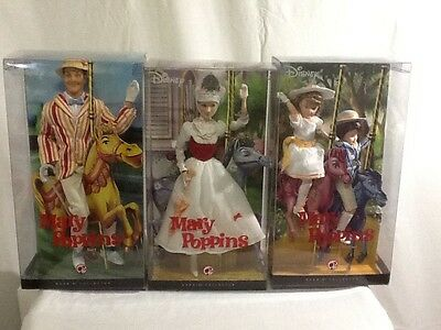 2007 Mary Poppins Barbie Collection Lot