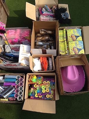 Job Lot Party Items And Accessories, Fancy Dress, Napkins, Bags