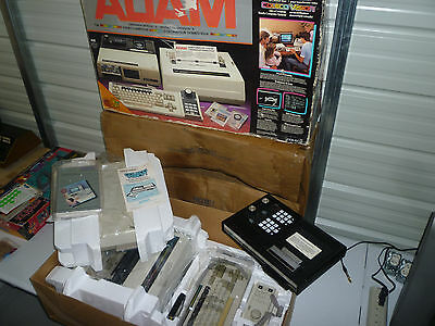 Coleco Adam Computer Game Console System Complete Tested in Original Box + More
