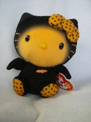 TY beanie babies hello kitty dressed as a bat