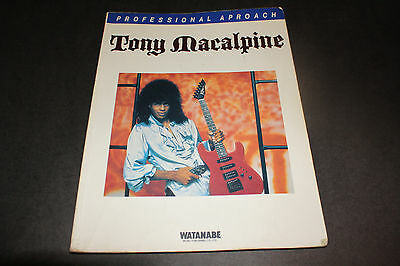 Tony Macalpine Edge of Insanity Tab Book Jap Score