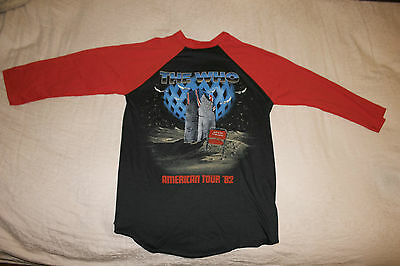 "Vintage 1982 The Who ""It's Hard"" Tour Concert T-Shirt, Jersey - Mint Condition"