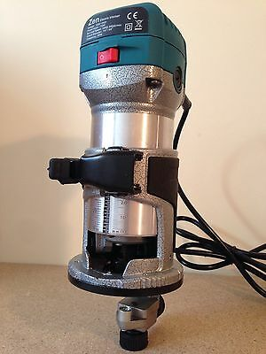 Palm Router / Laminate Trimmer c/w Guide 240V RT0700 ZEN (Not Makita)