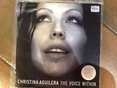 """CHRISTINA AGUILERA -THE VOICE WITHIN 12"""" SINGLE - RARE 4 Tracks Excellent Cond"""