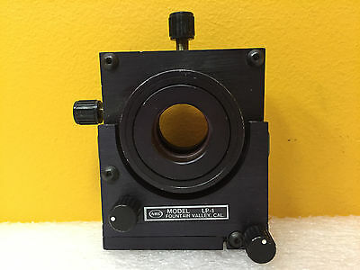 """Newport Research Corp LP-1, XYZ-OXOY, 1.6"""" Dia. 5 Axis, Lens Positioner"""