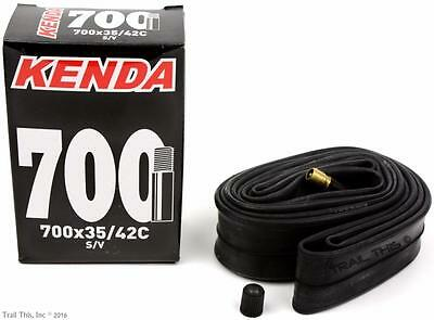 Kenda 700x35/42 (35-42C) Hybrid / Commuter Bike Inner Tube 32mm Schrader Valve