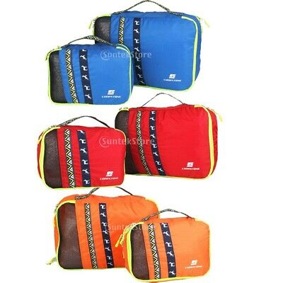 Outdoor Travel LUGGAGE SUITCASE Bag CLOTHES STORAGE PACKING CUBE Pouch HANDBAG