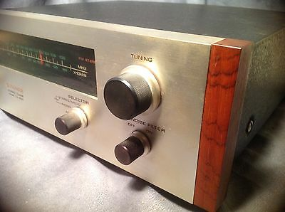 Rare Vtg Pioneer TX 500 Stereo Tuner w/ Line Voltage Selector-Brazilian Rosewood