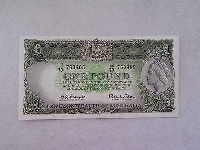 1961 One Pound Note - Coombs / Wilson - Reserve Bank Of Australia