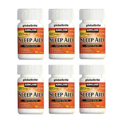Kirkland Signature Sleep Aid 25 mg., 96 Tablets - Free Shipping Worldwide