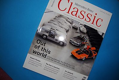 Mercedes  Classic  Magazine Featuring The C111, Gullwing  & Much More