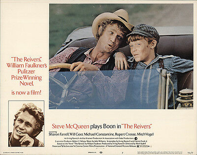 The Reivers 1970 Original Movie Poster Comedy Drama