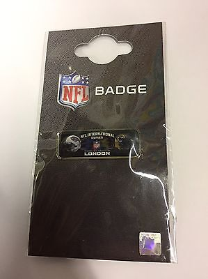 Brand New Sealed Official 2015 NFL International Series London Pin Badge