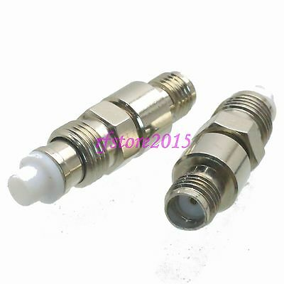 1pce Adapter Connector FME female jack to SMA female jack for Antenna Router