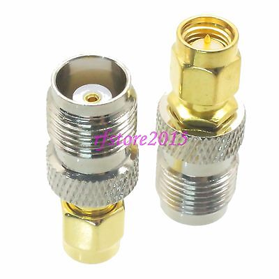1pce Adapter Connector TNC female jack to SMA male plug for Antenna Router