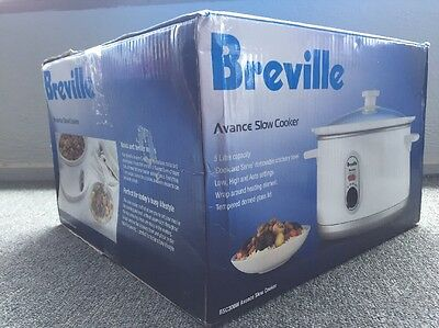 NEW In Box Breville Advance The Smart Temp 5L Slow Cooker