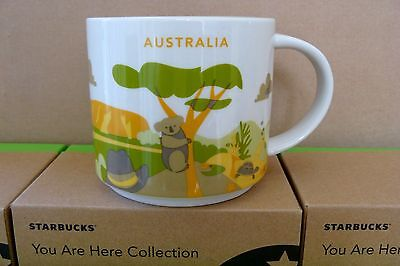 STARBUCKS Mugs - You Are Here - Collector Editions - (AUSTRALIA)