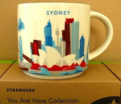 STARBUCKS Mugs - You Are Here - Collector Editions - (SYDNEY)