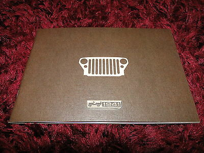 Jeep 75th Anniversary Editions Brochure 1941-2016 - Wrangler, Cherokee, Renegade