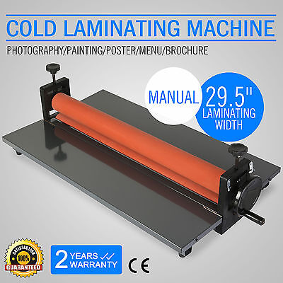750Mm Cold Wide Large Format Printer Roll Laminator Lamination Machine