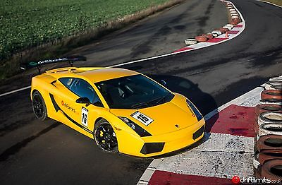 50% Off Lamborghini Driving Experience Gift Voucher+ High Speed Passenger Lap