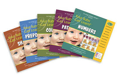 Your Baby Can Learn 5 Book Set. REDUCED TO CLEAR