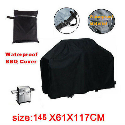 57'' Waterproof BBQ Cover Gas Barbecue Grill Protection Patio Outdoor