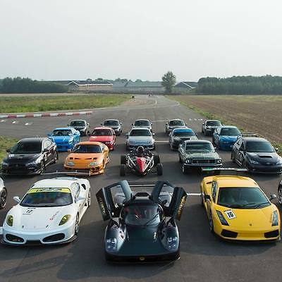 50% Off One Car Supercar Taster Driving Experience Gift Voucher Christmas Gift