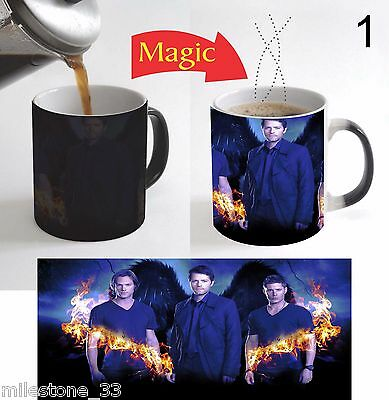 Supernatural TV Series Magic Color Change Coffee Mug 11 Oz Christmas Gift - 1