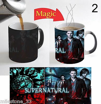 Supernatural TV Series Magic Color Change Coffee Mug 11 Oz Christmas Gift - 2