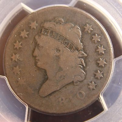 1810 Classic Head Large Cent, S-283