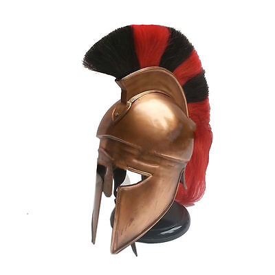 "Crusader Helmets Medieval^Greek""Corinthian""Helmet with two shade plume"