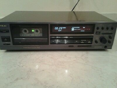 TEAC V-870 high end Stereo Cassette Deck testina Amorphous