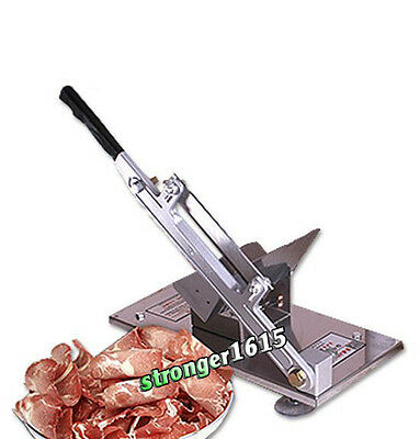 Manual Stainless Steel Frozen Meat Slicer Beef Slicing Machine Handle Vegetable