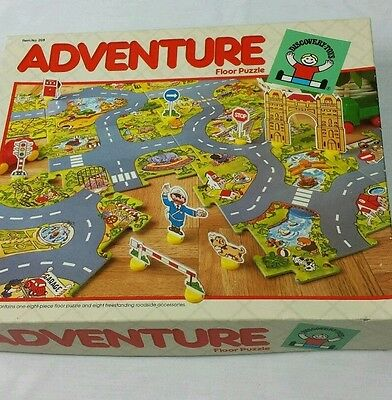 Floor Puzzle Discovery Toys Adventure Floor Puzzle 1986 3 years +