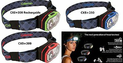 Coleman CXS+ Headtorch - LED Headtorch for Camping, Fishing, Hiking , Home