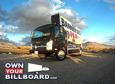 Mobile Advertising Truck, 20'x10' Billboard Truck Isuzu NPR Strong Engine
