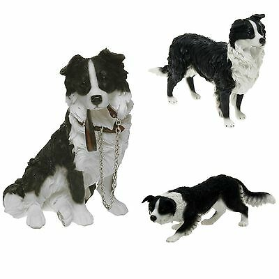 Border Collie Detailed Ornament/Figure by Leonardo~ Assorted Sizes/Styles