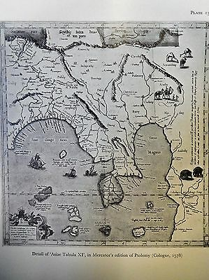 1578 Antique Map Of Asiae Tabula Xi - Ptolemy - Burma, Thailand - Reproduction