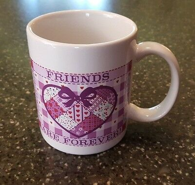 Avon Gift Collection With Love Mug Best Friend Friends Are Forever NIB